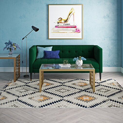 golden girl ivory area rug by cosmoliving