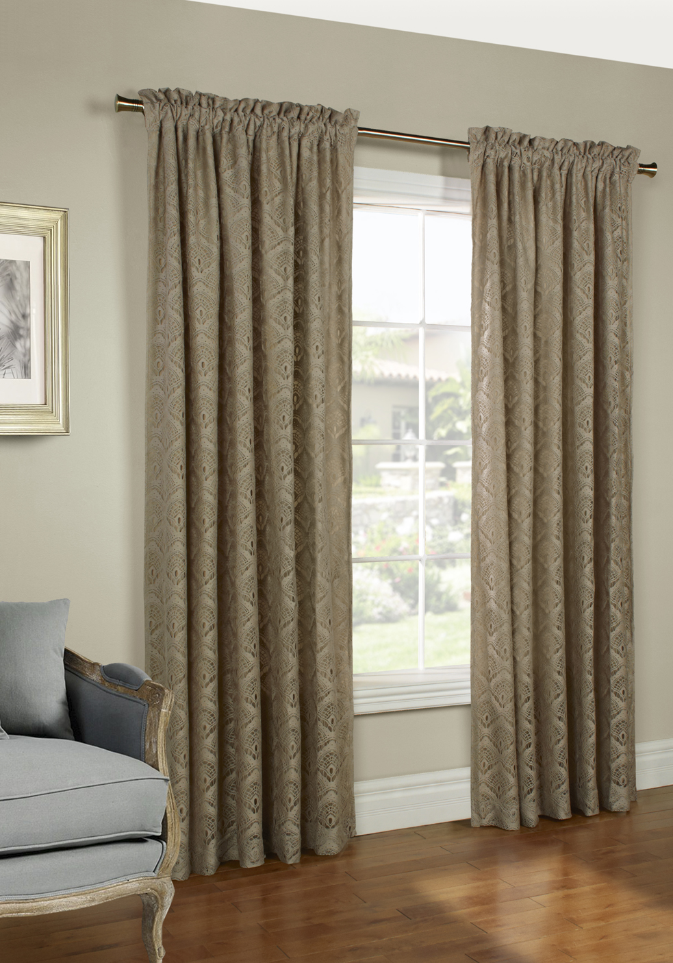 rod pocket panel curtains