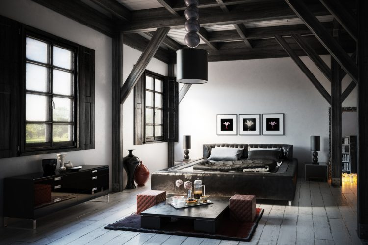 Black Windows in Your Home: Bedroom