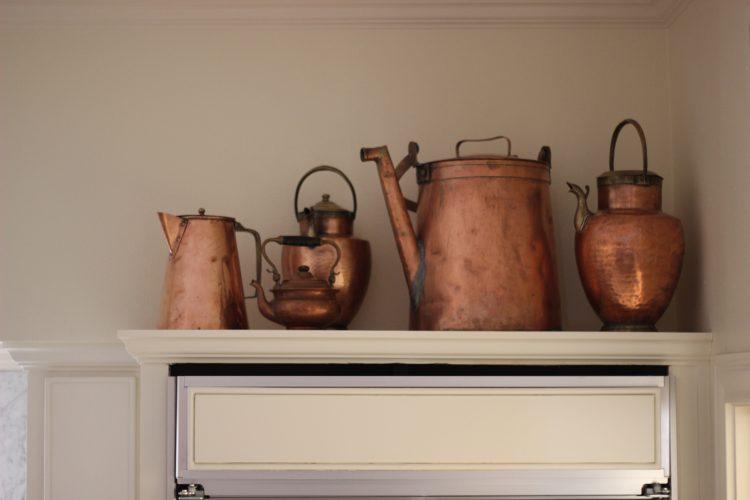 vintage baking or even copper pots