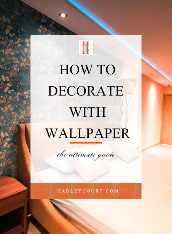 decorate with wallpaper pin