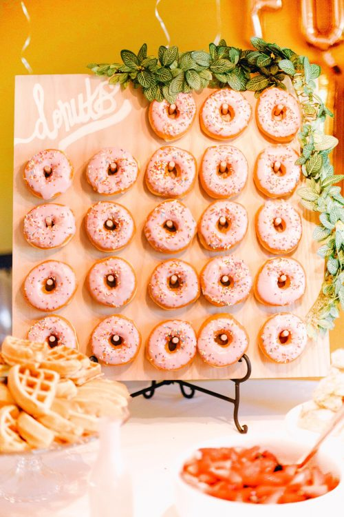 how to make a donut board