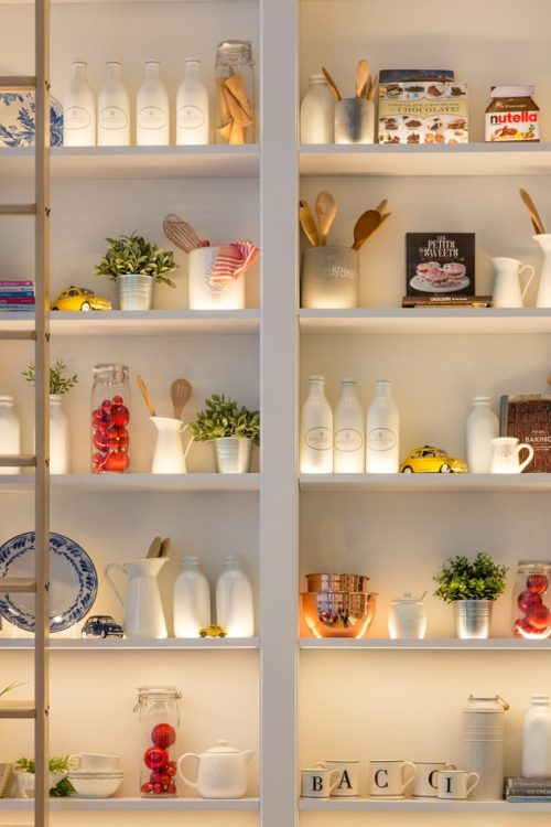 How To Style Your Kitchen Shelves