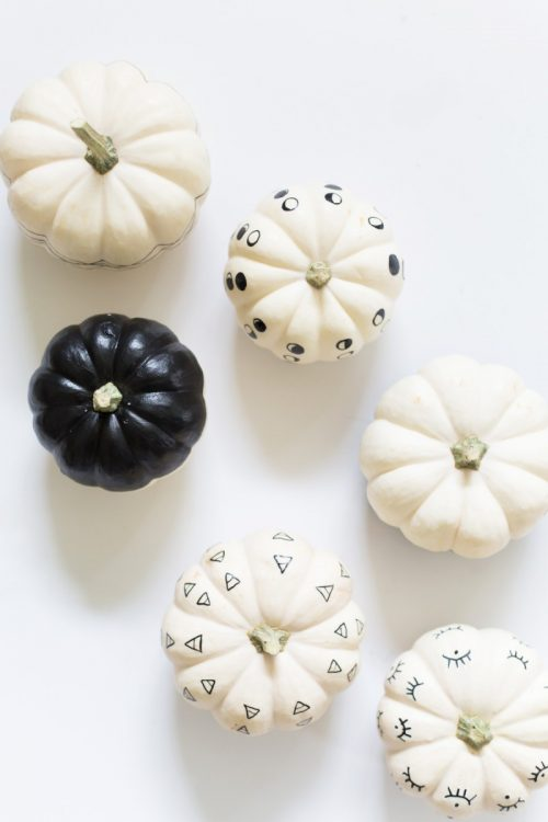 diy paint pen pumpkins easy pumpkin painting ideas