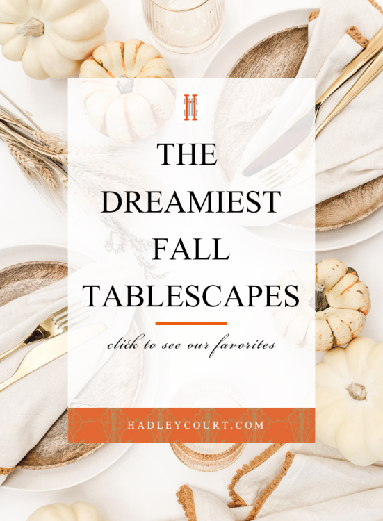 dreamy fall tablescape ideas