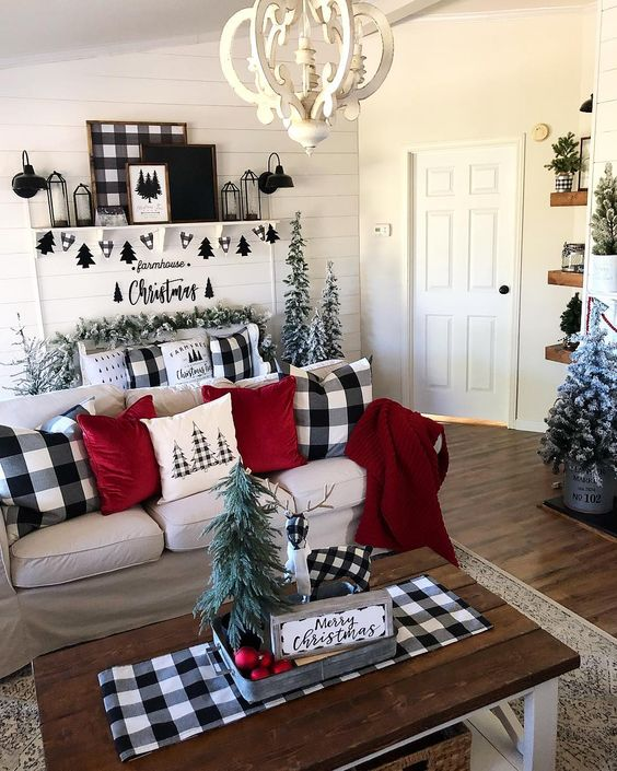 Incorporate Farmhouse Christmas Decor Throughout Your Home