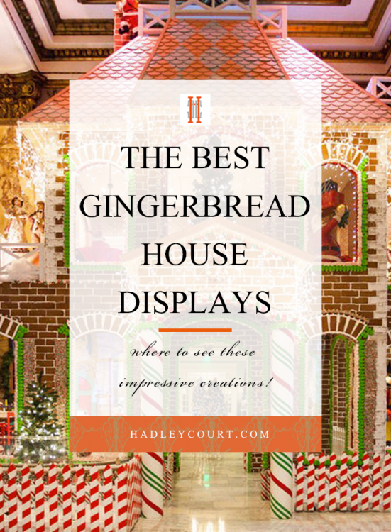 the best gingerbread house displays around the world