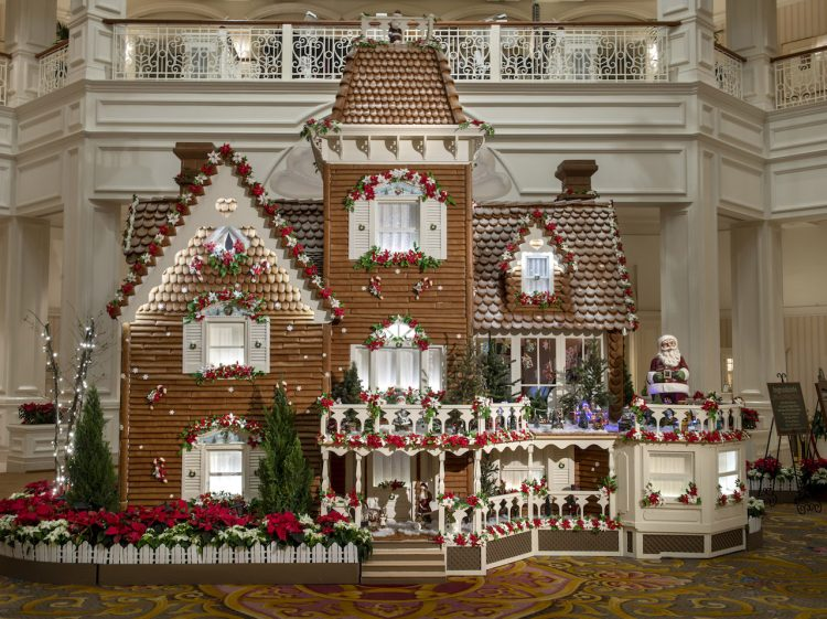 grand Floridian Disney parks 2019 gingerbread house