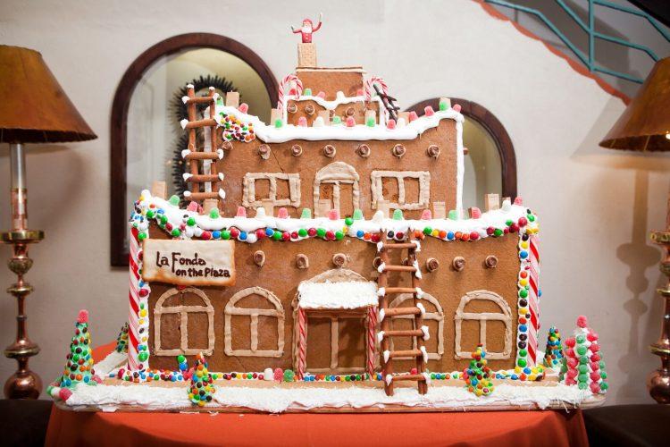la fonda 2019 gingerbread house display