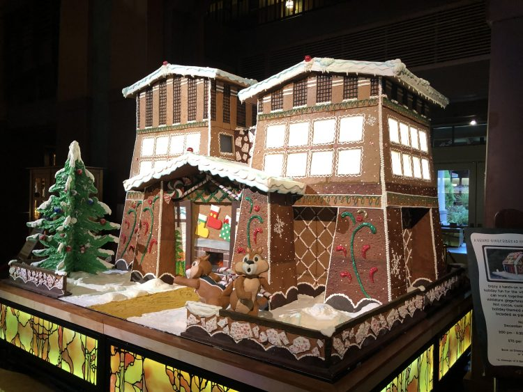 Grand Californian Hotel gingerbread house 2019