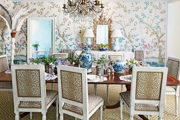 grandmillennial interior design