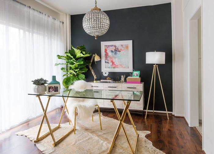 Create A Chic Elegant Home Office Hadley Court Interior Design Blog