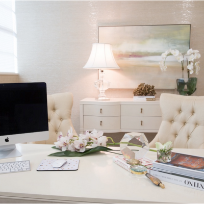 How to Create a Chic, Elegant Home Office
