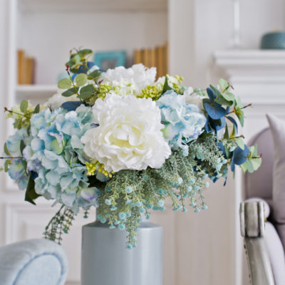 Add Instant Color To Your Home With Artificial Floral Arrangements