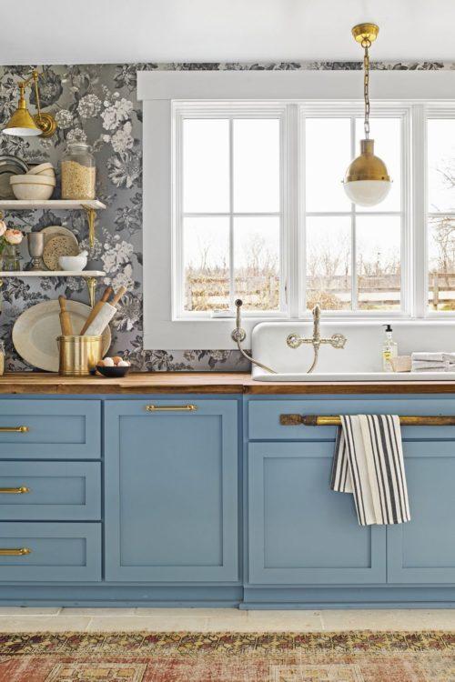 11 Cabinet Paint Color Ideas that Aren't White! | Hadley ...