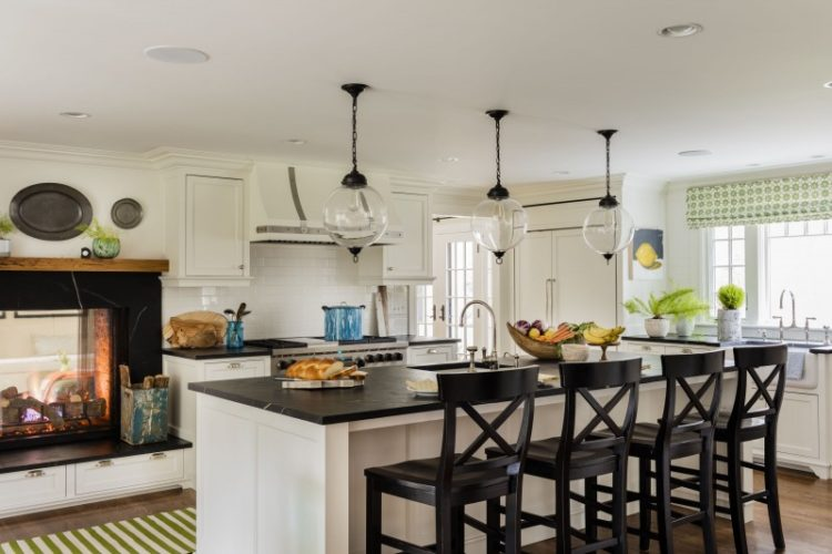 7 Reasons To Consider A Fireplace In Your Kitchen Makeover Hadley Court Interior Design Blog