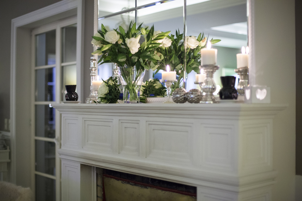 How to Decorate a Fireplace Mantel Like a Professional (10 Tips)