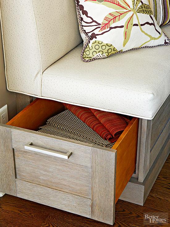 built-in kitchen bench ideas