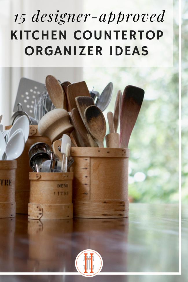 kitchen countertop organizer ideas